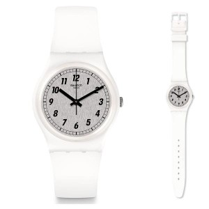 Zegarek damski Swatch GW194 Something White Swiss Made